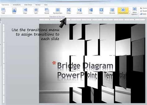 powerpoint tutorial transitions adding animated transitions to powerpoint slides