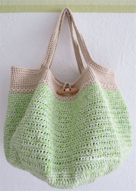 free tote bag pattern pinterest spring bag tutorial free crochet crochet patterns and totes
