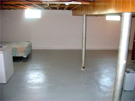 Basement Floor Paint Ideas Epoxy Basement Floor Paint Home Design Ideas Painting Basement Floor In Uncategorized Style