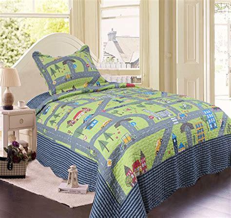 best kids bedding brandream boys cars vehicles quilt set kids comforter set