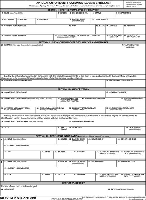 section 32 form download download dd form 1172 2 for free tidyform