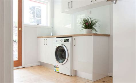 Laundry Cupboards Flat Pack - five tips for a well functioning flat pack laundry