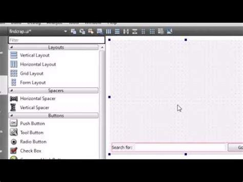 Qt Tutorial Bucky | c gui with qt tutorial 10 designing the user