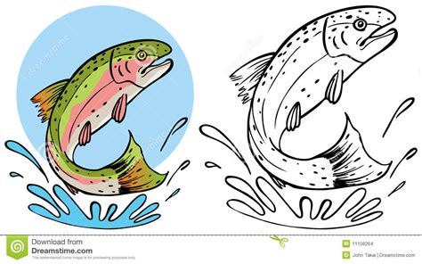 coloring books splashy 44 grayscale splashy coloring pages of females flowers butterflies animals food and more books trout splashing stock images image 11106264