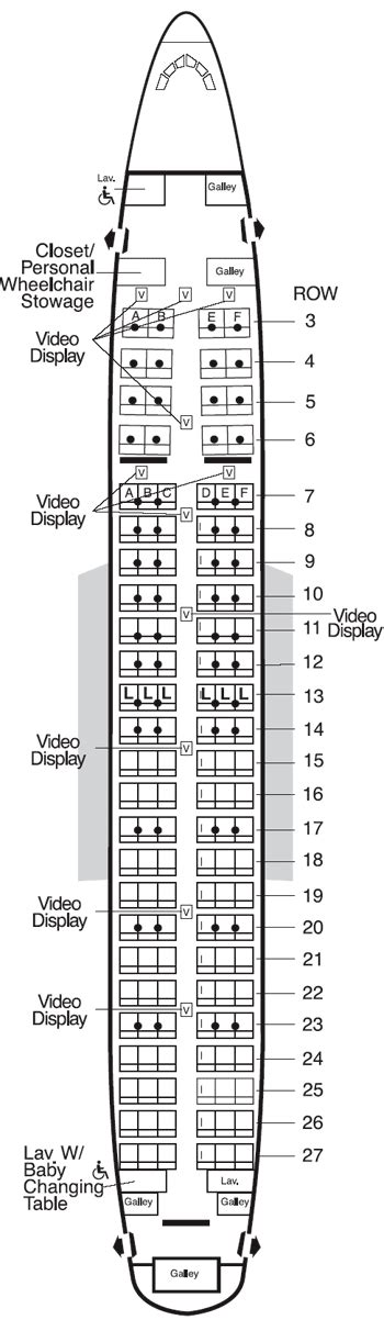 american airlines seating chart 737 american airlines aircraft seatmaps airline seating maps