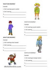 What s he she wearing worksheet free esl printable worksheets made