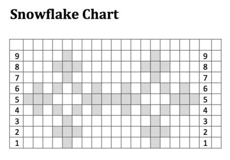 snowflake pattern knitting chart just crafty enough advent calendar project week 4