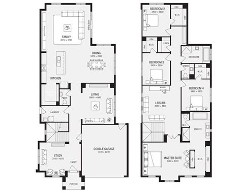 metricon homes floor plans metricon bordeaux 40 house plans pinterest