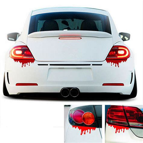 stickers for cars new 2016 blood bleeding car stickers reflective car