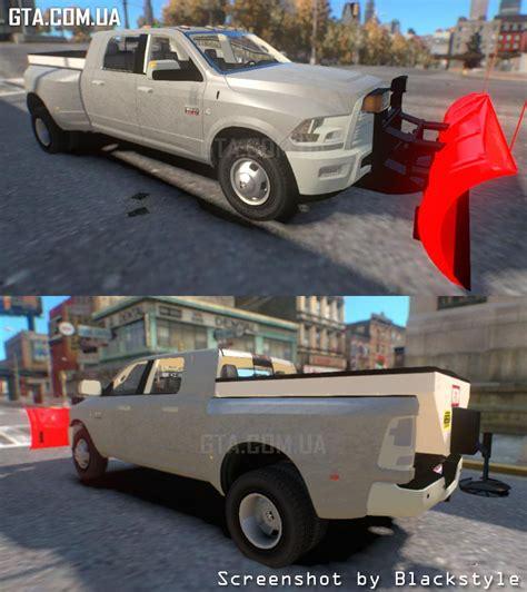 Ram Els dodge ram 3500 plow truck els ð ð ñ gta 4 â gta ua