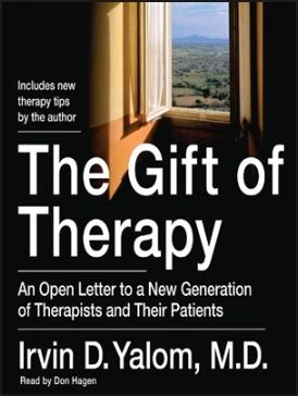Gift Of Therapy reads the gift of therapy clairelewiscounseling