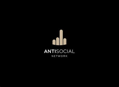 Antisocial Black 30 great logos with smart concepts webdesigner depot