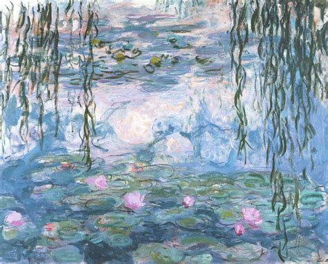 Interior Home Paint Ideas by Interior Inspiration Monet S Water Lilies