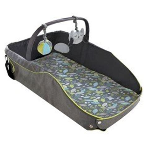 Travel Bed For Toddler Still In Crib Eddie Bauer Infant Travel Bed Black Green Baby