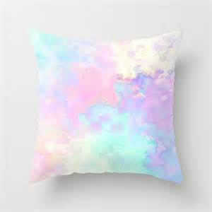 colored pillows runny colors throw pillow by from society6 bedroom