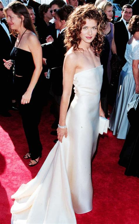 Emmy Trends Strapless by 203 Best Style File Debra Messing Images On