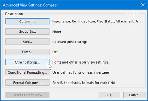 outlook layout email preview how to customize outlook 2016 reading pane fonts