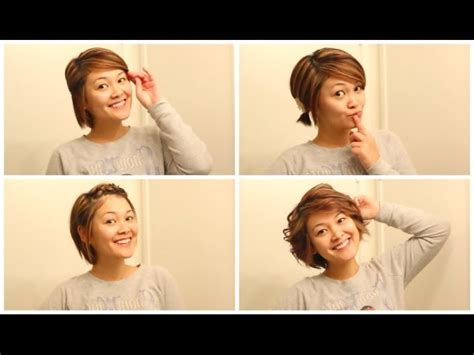 hairstyles for short hair while growing it out cute hairstyles while growing out short hair hair