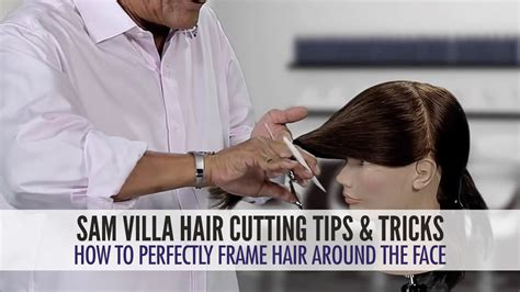 face framing hair cutting technique how to easily frame hair around the face using a twist