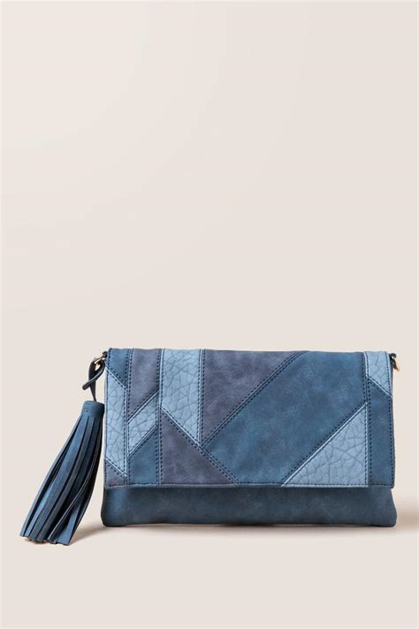 Patchwork Clutch - blakely patchwork crossbody clutch s