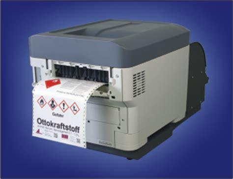 Aufkleber Drucken Mit Laserdrucker by Ghs Etikettendrucker Erstellen Die Labels Erst Bei Bedarf