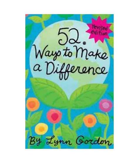 7 Ways To Make A Difference by Ways To Make A Difference Rev Ed Edition Cards Buy Ways