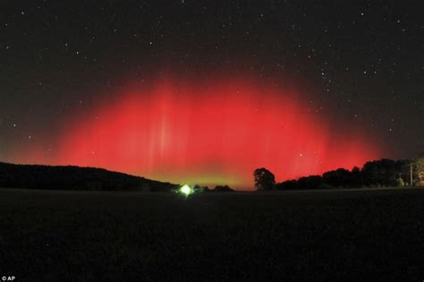 Solar Activity Northern Lights Northern Lights Seen As Far South As Alabama Due To Freak