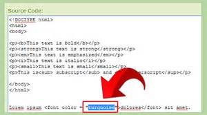 font color html how to change text color in html with exles wikihow