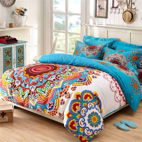 bohemian chic bedding beautiful gypsy style bedding and bedroom atzine com