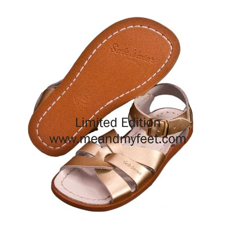 gold saltwater sandals add to cart