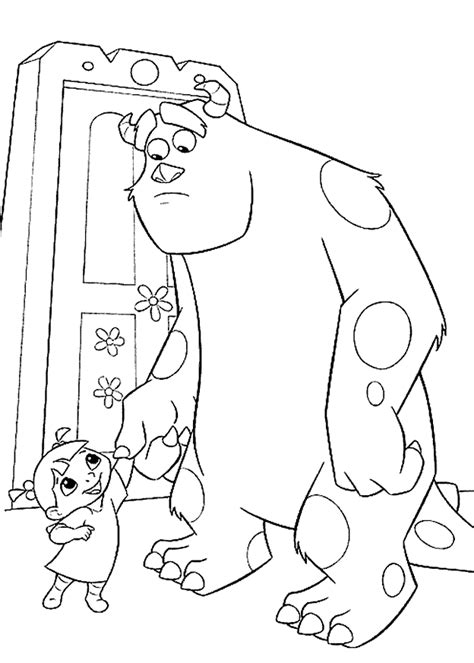 printable coloring pages monsters inc monsters inc coloring pages best coloring pages for kids