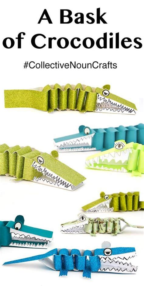 How To Make A Paper Crocodile - 25 best ideas about crocodile craft on