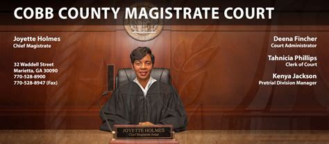 Cobb County Magistrate Court Records Magistrate Home