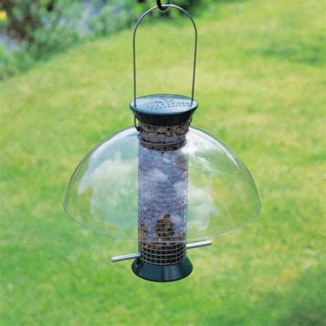 droll yankees seattle rain guard bird feeder accessories