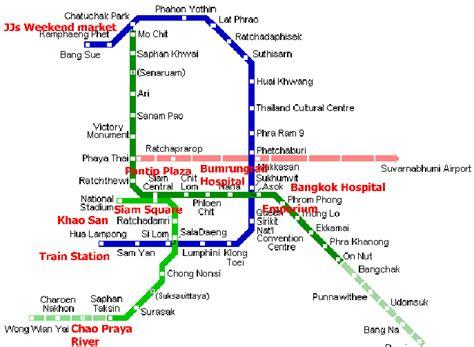 bts thailand bangkok bts and mrt thailand travel information