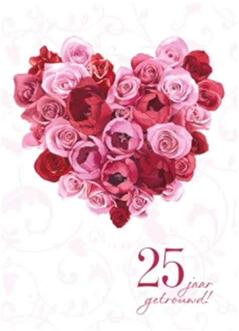 25 jaar getrouwd zilver felicitatie kaarten echtvereniging trouwdag zilver 25 hallmark