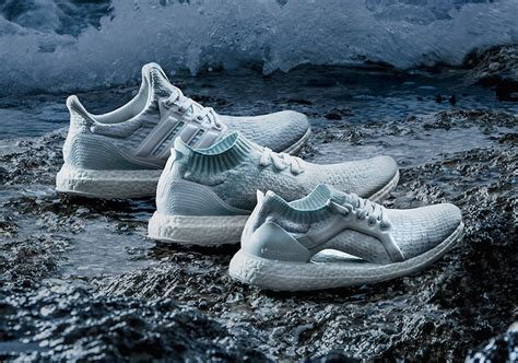 Adidas Ultra Boost Parley Blue Limited Edition parley x adidas ultra boost quot icey blue quot collection soleracks