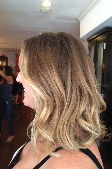 dirty blonde ombre short sunkissed blonde balayage and hairstyle ombre hair