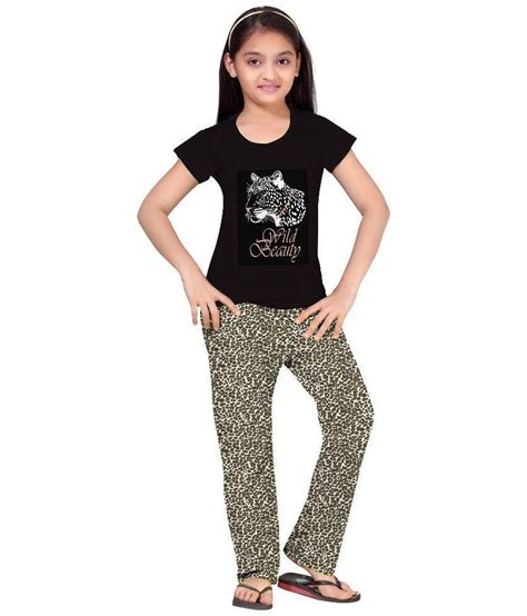 Set Sleeve Printed Top so sweety half sleeve graphic printed top pyjama pant