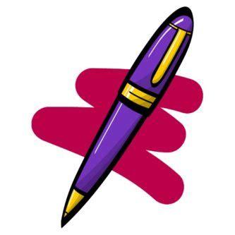 pen clipart pen clipart purple pen pencil and in color pen clipart