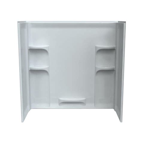 one piece bathtub wall surround one piece bathtub surround from sears com