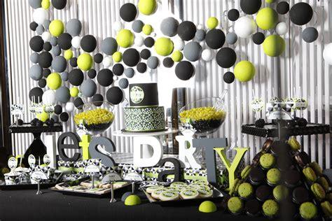 elegant 40th birthday party ideas party themes inspiration