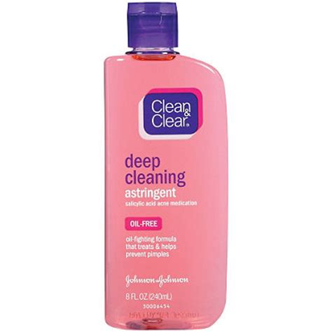 Toner Clean And Clear clean clear cleansing astringent free