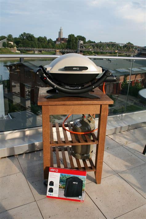 weber grill wagen preisupdate 190 weber q100 gasgrill mit bekv 228 m wagen und