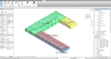 plan concrete revit add ons concrete zone quantity