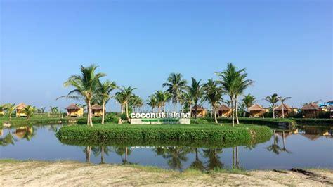 coconut island coconut island carita water park labuan pandeglang