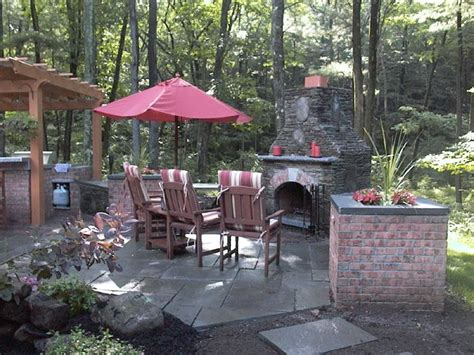 backyard ideas on pinterest fireplace backyard landscape ideas pinterest