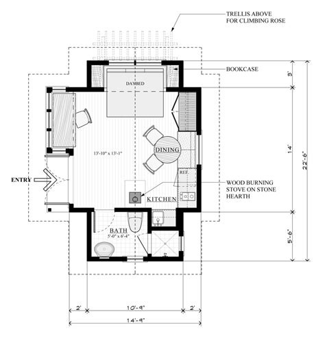 guest cottage floor plans guest cottage plans cool house plans