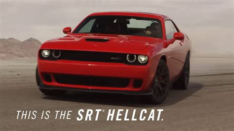 dodge commercial dodge challenger hellcat commercial