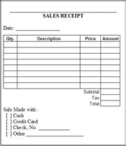 sales reciept template free printable pdf sales receipts business form templates
